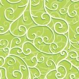Naadloos patroon met wervelingen Stock Foto's