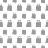Naadloos patroon met zak Stock Foto's