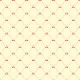 Naadloos patroon met zwanen Stock Fotografie
