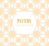 Naadloos patroon moderne modieuze textuur Geometrische abstracte achtergrond Stock Afbeelding