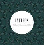 Naadloos patroon moderne modieuze textuur Geometrische abstracte achtergrond Stock Foto's
