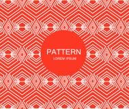 Naadloos patroon moderne modieuze textuur Geometrische abstracte achtergrond Royalty-vrije Stock Afbeeldingen