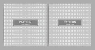 Naadloos patroon moderne modieuze textuur Geometrische abstracte achtergrond Vector Stock Foto's