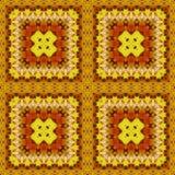 Naadloos patroon, olieverfschilderij Royalty-vrije Stock Afbeelding