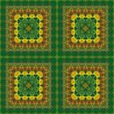 Naadloos patroon, olieverfschilderij Royalty-vrije Stock Fotografie