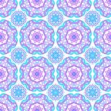 Naadloos patroon om mandalas royalty-vrije stock afbeelding