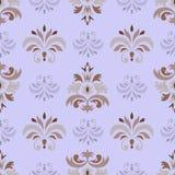 Naadloos patroon op beige achtergrond Royalty-vrije Stock Foto's