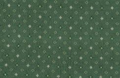 Naadloos patroon op groen Stock Afbeelding