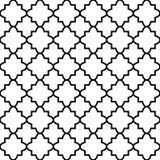 Naadloos patroon op Islamitische stijl, vector geometrische ornamenttextuur of achtergrond Stock Afbeelding