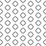 Naadloos patroon op Islamitische stijl, vector geometrische ornamenttextuur of achtergrond Royalty-vrije Stock Foto's