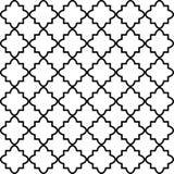 Naadloos patroon op Islamitische stijl, vector geometrische ornamenttextuur of achtergrond Royalty-vrije Stock Fotografie