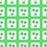 Naadloos Patroon, Palmen Royalty-vrije Stock Foto's