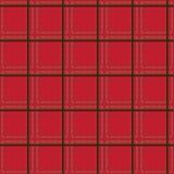 Naadloos patroon - plaid Royalty-vrije Stock Foto