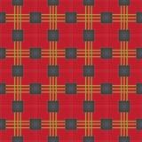 Naadloos patroon - plaid 5 Royalty-vrije Stock Fotografie