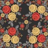 Naadloos patroon in retro stijl 4 Royalty-vrije Stock Afbeelding