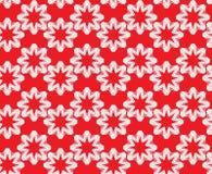 Naadloos patroon Sier abstracte Achtergrond in rood en whi Stock Foto's