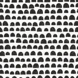 Naadloos patroon in Skandinavische stijl Royalty-vrije Stock Afbeelding