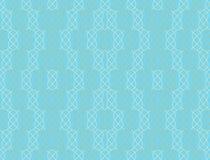 Naadloos patroon in turkooise en bruine kleuren Royalty-vrije Stock Afbeelding