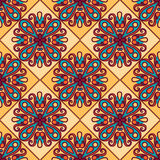 Naadloos patroon Uitstekende decoratieve elementen Royalty-vrije Stock Foto
