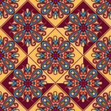 Naadloos patroon Uitstekende decoratieve elementen Stock Foto