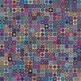 Naadloos patroon Uitstekende decoratieve elementen Getrokken hand backgr Royalty-vrije Stock Fotografie