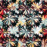 Naadloos patroon Uitstekende decoratieve elementen Hand Getrokken Achtergrond royalty-vrije stock foto's