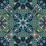 Naadloos patroon Uitstekende decoratieve elementen Hand Getrokken Achtergrond Islam, Arabisch, Indiër, ottomanemotieven Perfectio Stock Afbeeldingen