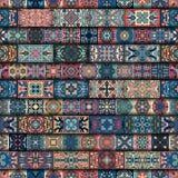 Naadloos patroon Uitstekende decoratieve elementen Hand Getrokken Achtergrond Islam, Arabisch, Indiër, ottomanemotieven Perfectio Royalty-vrije Stock Foto
