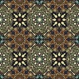 Naadloos patroon Uitstekende decoratieve elementen Hand Getrokken Achtergrond Islam, Arabisch, Indiër, ottomanemotieven Perfectio Royalty-vrije Stock Foto's