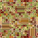 Naadloos patroon Uitstekende decoratieve elementen Hand Getrokken Achtergrond Islam, Arabisch, Indiër, ottomanemotieven Royalty-vrije Stock Afbeelding