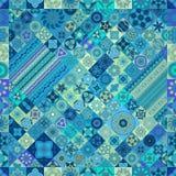 Naadloos patroon Uitstekende decoratieve elementen Hand Getrokken Achtergrond Islam, Arabisch, Indiër, ottomanemotieven Royalty-vrije Stock Foto's