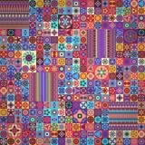 Naadloos patroon Uitstekende decoratieve elementen Hand Getrokken Achtergrond Islam, Arabisch, Indiër, ottomanemotieven Royalty-vrije Stock Afbeeldingen