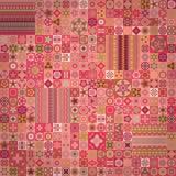 Naadloos patroon Uitstekende decoratieve elementen Hand Getrokken Achtergrond Islam, Arabisch, Indiër, ottomanemotieven Stock Afbeelding