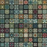 Naadloos patroon Uitstekende decoratieve elementen Hand Getrokken Achtergrond Islam, Arabisch, Indiër, ottomanemotieven Perfectio Royalty-vrije Stock Afbeeldingen