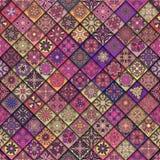 Naadloos patroon Uitstekende decoratieve elementen Hand Getrokken Achtergrond Islam, Arabisch, Indiër, ottomanemotieven Perfectio Royalty-vrije Stock Afbeelding