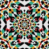 Naadloos patroon Uitstekende decoratieve elementenillustratie royalty-vrije stock afbeeldingen
