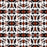 Naadloos patroon Uitstekende elementenillustratie stock fotografie