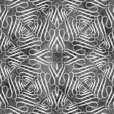 Naadloos patroon, uitstekende kalligrafietextuur Stock Afbeelding