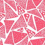 Naadloos patroon van abstract art. achtergrond in heldere kleuren Vector illustratie Goede keus voor de achtergrond Royalty-vrije Stock Foto's