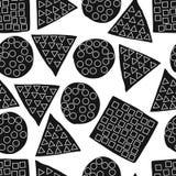 Naadloos patroon van abstract art. achtergrond in heldere kleuren Vector illustratie Goede keus voor de achtergronddecoratie Stock Fotografie