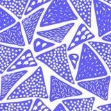 Naadloos patroon van abstract art. achtergrond in heldere kleuren Vector illustratie Goede keus voor de achtergronddecoratie Stock Foto's