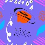 Naadloos patroon van abstract art. achtergrond in heldere kleuren Vector illustratie Goede keus voor de achtergronddecoratie Royalty-vrije Stock Afbeeldingen