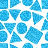 Naadloos patroon van abstract art. achtergrond in heldere kleuren Vector illustratie Goede keus voor de achtergronddecoratie Royalty-vrije Stock Fotografie