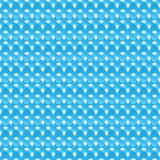 Naadloos patroon van blauwe abstracte kruisen stock illustratie