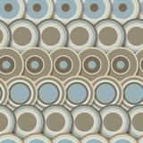 Naadloos patroon van bruine samenvatting Royalty-vrije Stock Foto