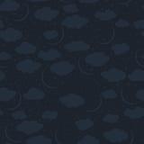Naadloos patroon van de nachthemel Stock Fotografie