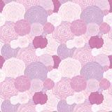 Naadloos patroon van de roze rozen Royalty-vrije Stock Foto's
