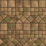 Naadloos patroon van een gestenigde tegel Royalty-vrije Stock Afbeeldingen