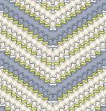 Naadloos patroon van een rimpelingsstrepen. Royalty-vrije Stock Afbeelding