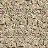 Naadloos patroon van een steen Stock Fotografie